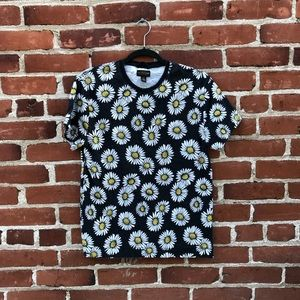 Tops - CPO Provisions Sunflower Cotton T-Shirt Black S